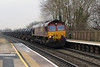 66 056 at Tamworth High Level on 21st January 2015 (3)