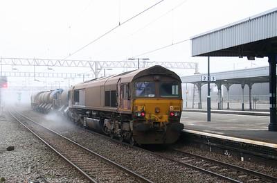 66 188 at Nuneaton on 2nd November 2015