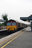 66 055 at Tamworth High Level on 21st January 2015 (2)
