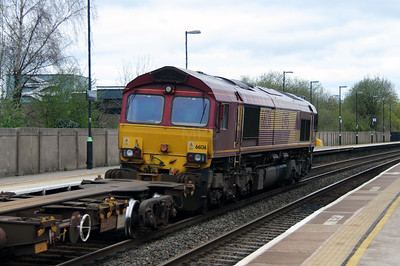 66136 at Tamworth High Level on 18th April 2016