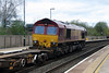 66136 at Tamworth High Level on 18th April 2016