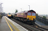 66 082 at Tamworth High Level on 21st January 2015 (2)
