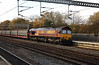 66102 at Tamworth Low Level on 17th November 2017