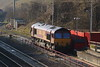 66 009 at Peak Forest on 9th March 2014