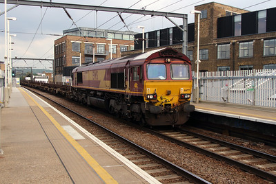 66177 at Kentish Town West on 14th October 2016
