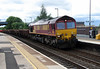 66 059 at Tamworth High Level on 11th July 2016