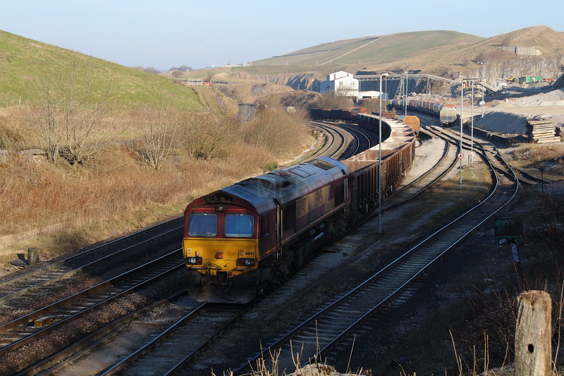 66 147 at Peak Forest on 9th March 2014