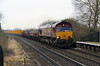 66 124 at Tamworth High Level on 21st January 2015 (3)