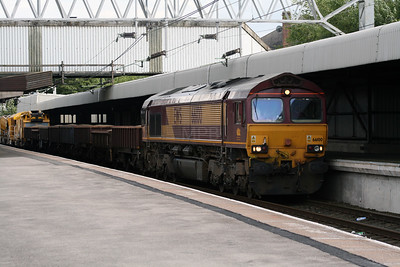 66 100 at Stafford on 2nd July 2007