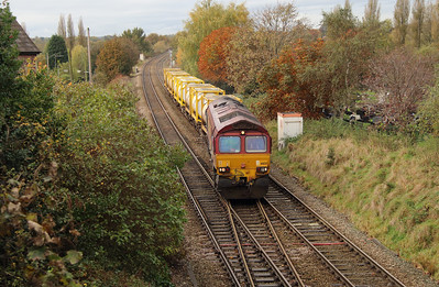 66 125 at Northwich West Junction on 24th October 2014 (9)