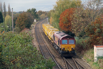 66 125 at Northwich West Junction on 24th October 2014 (6)