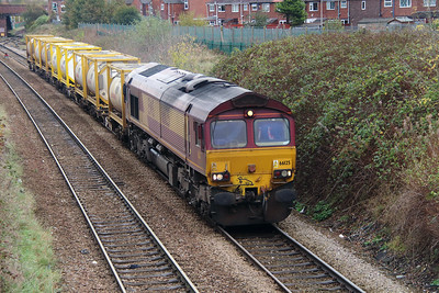 66 125 at Northwich East Junction on 24th October 2014 (4)