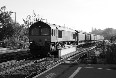 66 083 at Oxford on 31st October 2016