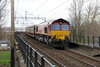 66 078 at Runcorn on 15th March 2014