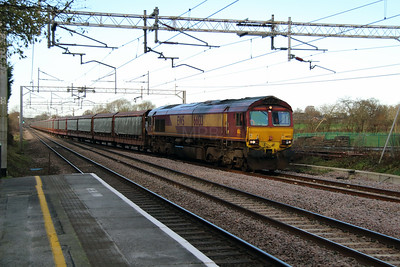66 133 at Acton Bridge on 2nd December 2014 (3)
