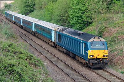 67 001 at (Norton) Runcorn on 7th May 2015 (4)