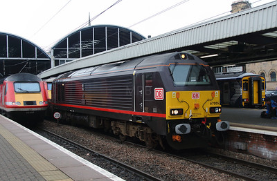 1) 67 005 at Newcastle on 15th October 2016