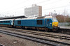 67 001 at Crewe on 27th December 2014 (2)