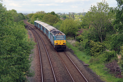 67 001 at Norton (Runcorn East) on 19th May 2015 (4)