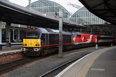 4) 67 005 at Newcastle on 15th October 2016