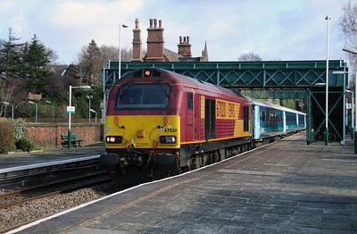 67 020 at Frodsham on 24th February 2015 (3)