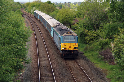 67 001 at Norton (Runcorn East) on 19th May 2015 (8)