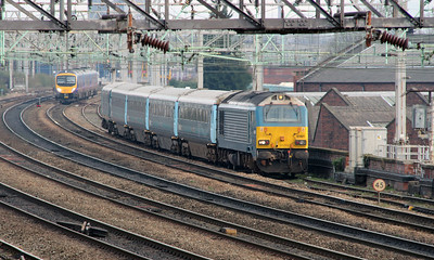 67 001 at Ardwick on 8th April 2015 working 5D31 (4)