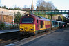67 008 at Frodsham on 13th January 2017