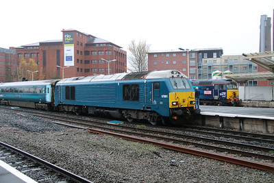 67 001 at Chester on 29th October 2015