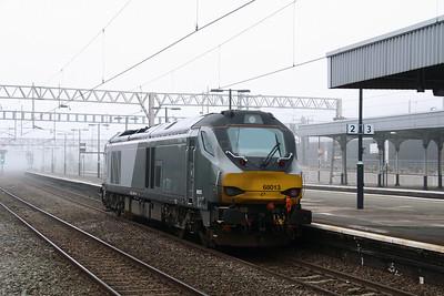 68013 at Nuneaton on 2nd November 2015