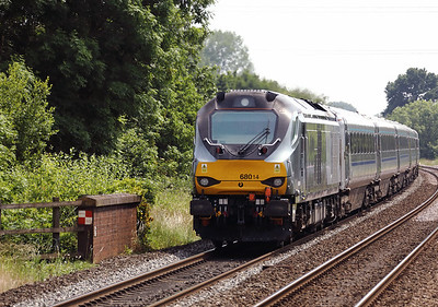 68 014 at Widney Manor on 21st June 2017 (5)