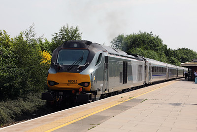 68 012 at Solihull on 21st June 2017 (2)
