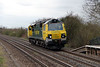 1) 70 003 at Tamworth High Level on 22nd April 2013 working 0Z96 1205 Basford Hall to Toton Yard