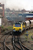 2) 70 004 at Warrington Arpley Junction on 26th February 2014