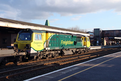 4) 70 001 at Oxford on 23rd February 2016