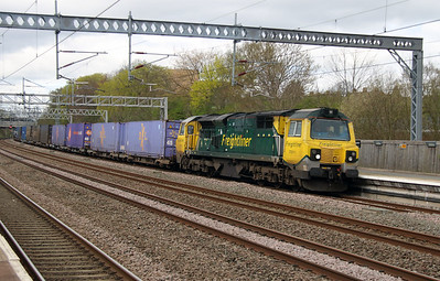70 011 at Tamworth Low Level on 18th April 2016