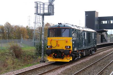 4) 73 967 at East Midlands Parkway on 11th November 2015