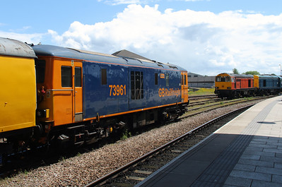 73961 & 20314 at Derby on 2nd July 2016