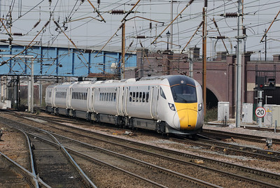 801 101 at Doncaster on 6th April 2018