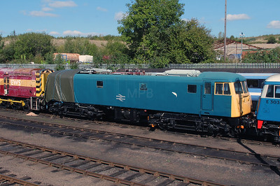 81 002 at Barrow Hill on 18th September 2916
