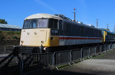 1) 82 008 at Barrow Hill on 18th September 2916