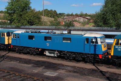 E3035 at Barrow Hill on 18th September 2916