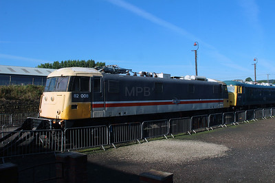 2) 82 008 at Barrow Hill on 18th September 2916