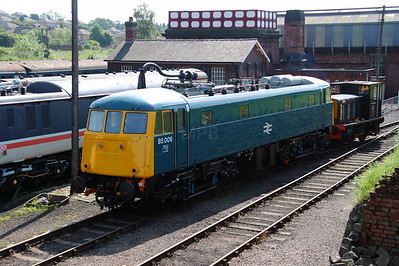 85 006 at Barrow Hill on 1st June 2014 (5)
