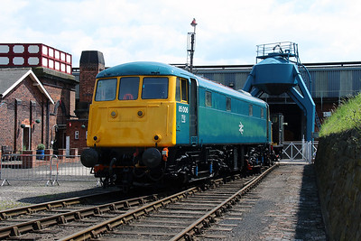 85 006 at Barrow Hill on 1st June 2014 (14)