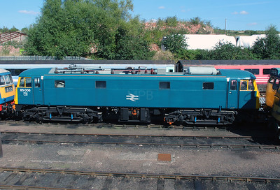 85 006 at Barrow Hill on 18th September 2916
