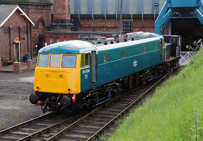 85 006 at Barrow Hill on 1st June 2014 (11)