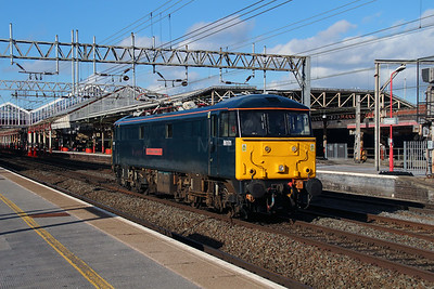 1) 86 101 at Crewe on 2nd March 2015 working 0Z87\