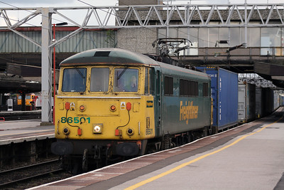 86 501 at Stafford on 2nd July 2007