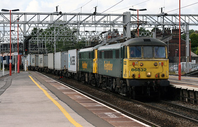 86 632 & 86 638 at Stafford on 2nd July 2007 (9)
